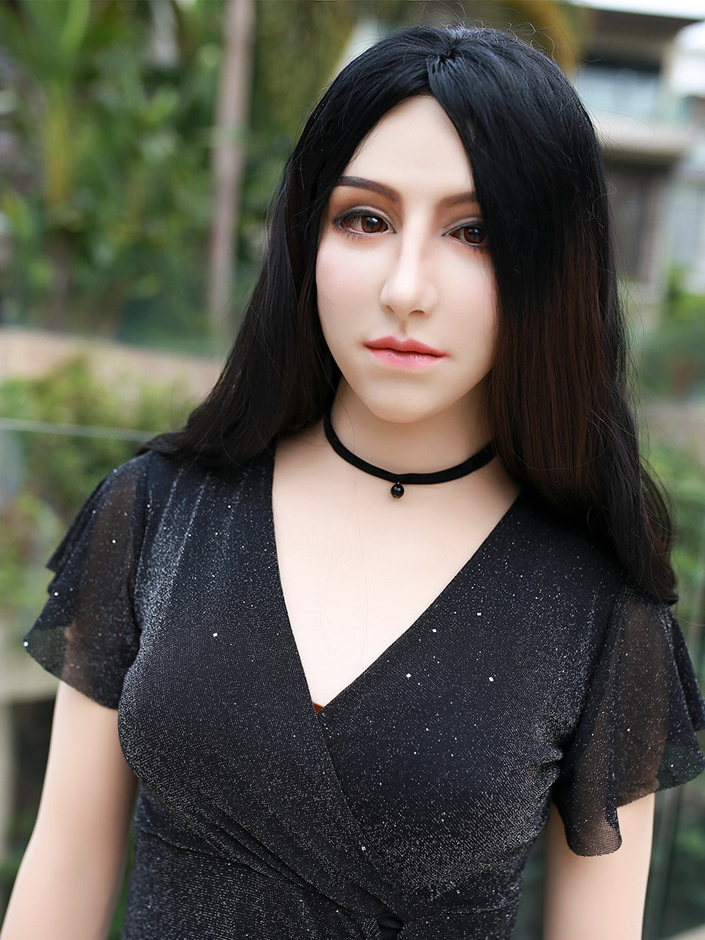 Full head Helen female mask Pull-Over Hood Crossdress Cosplay for TG CD Dragqueen Ladyboy
