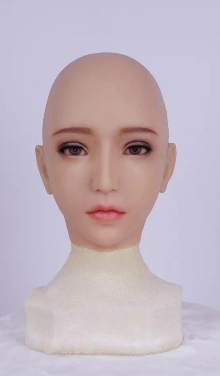 Full head silicone Anne mask party costume Crossdress Cosplay for TG CD Dragqueen Ladyboy