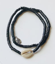 Load image into Gallery viewer, Coconut & Cowrie Bracelet Duo