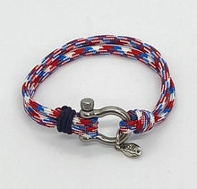 Load image into Gallery viewer, Freedom Paracord Bracelet