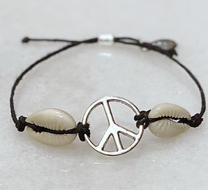 Peace Out Hemp Bracelet