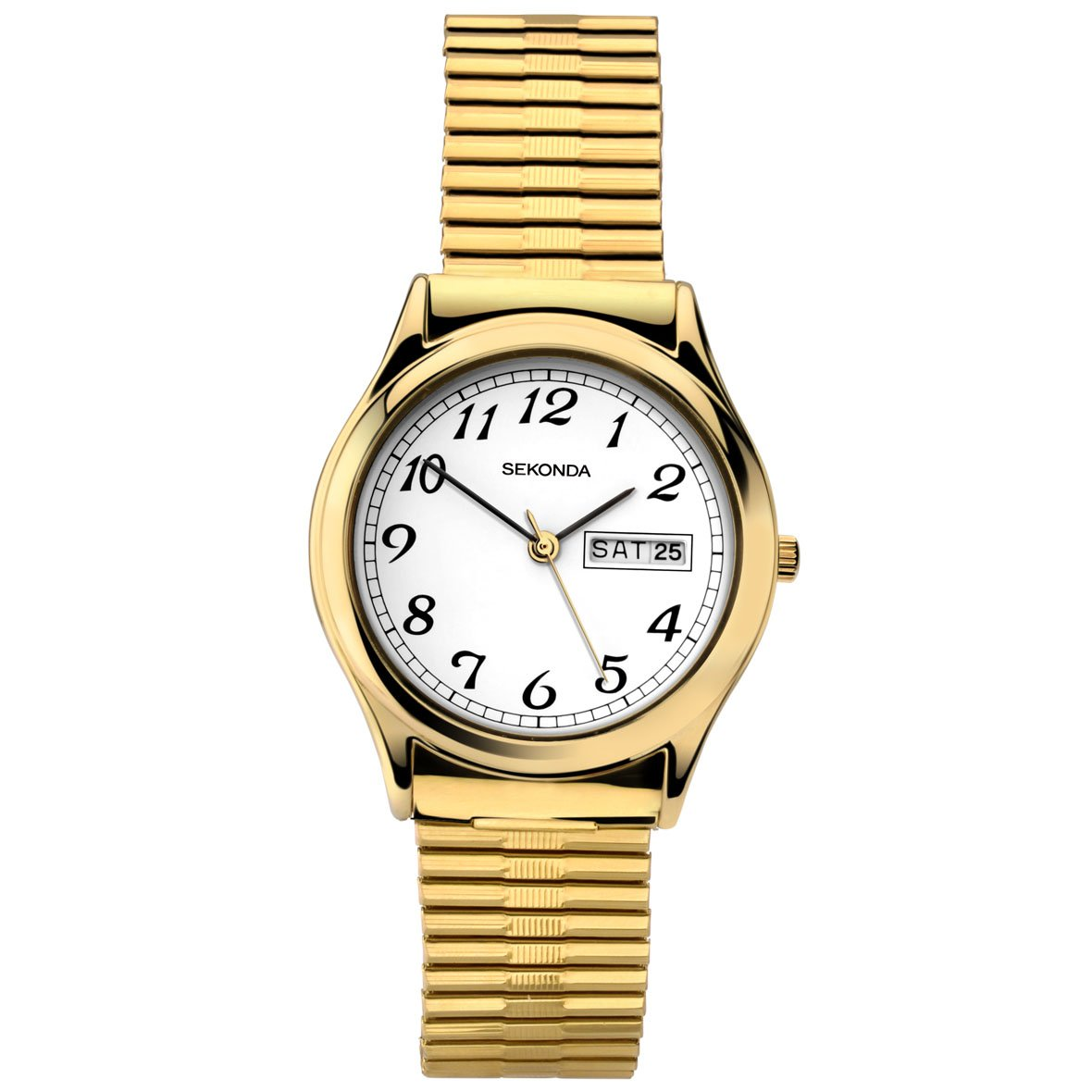 Sekonda Men's Classic Gold Plated Watch - Red Carpet Jewellers