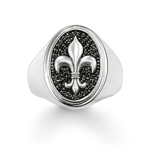 Thomas Sabo Fleur de lis ring - Red Carpet Jewellers