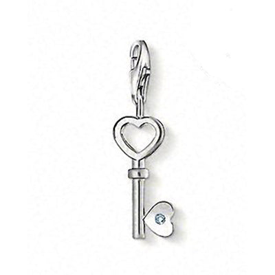 "Thomas Sabo ""key"" diamond charm - Red Carpet Jewellers"