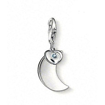 "Thomas Sabo ""moon"" diamond charm - Red Carpet Jewellers"