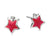 D for Diamond star earrings - Red Carpet Jewellers