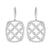 """Cushion Silhouette"" drop earrings - Red Carpet Jewellers"