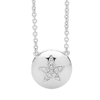 """Star"" disc pendant - Red Carpet Jewellers"