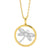 """Dragonfly"" cz medallion pendant - Red Carpet Jewellers"