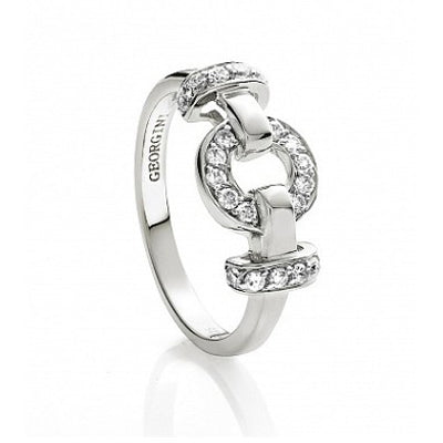 Sterling Silver cz ring - Red Carpet Jewellers