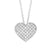 """Mini heart"" cz pendant - Red Carpet Jewellers"