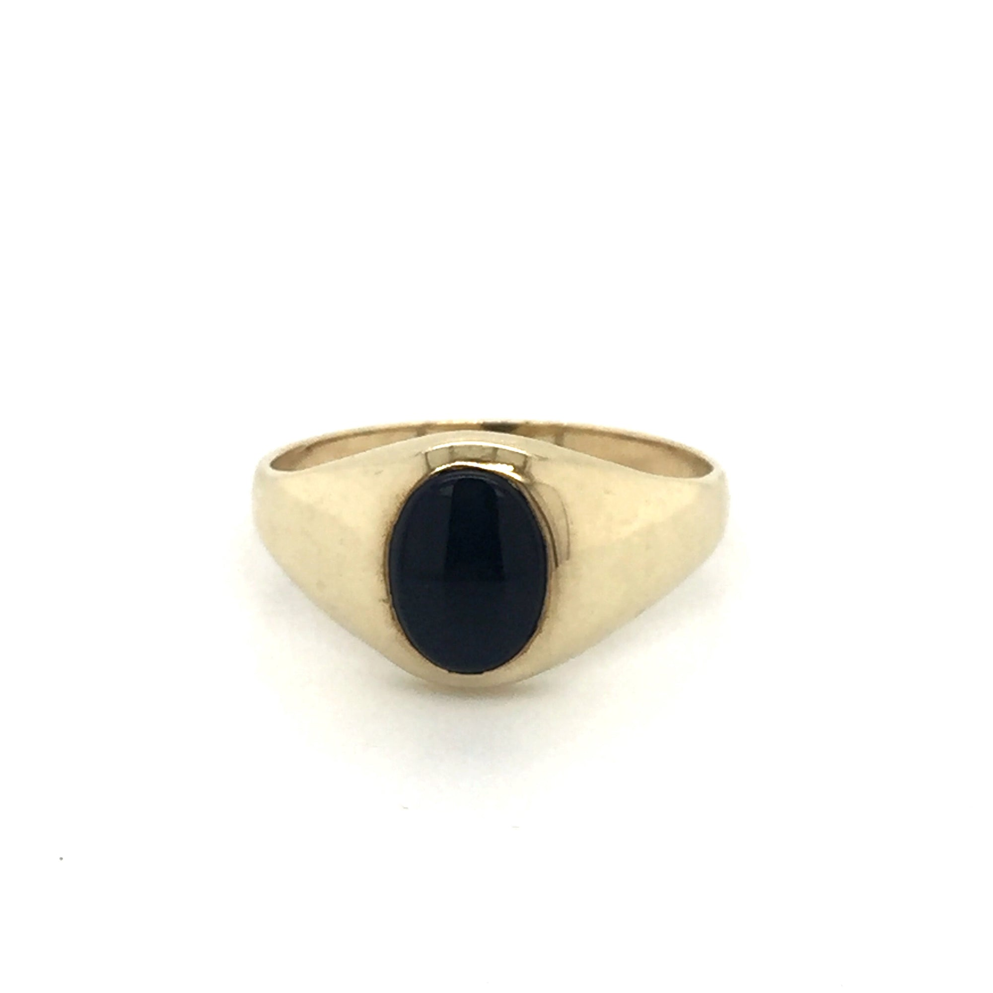 9ct Onyx signet ring - Red Carpet Jewellers