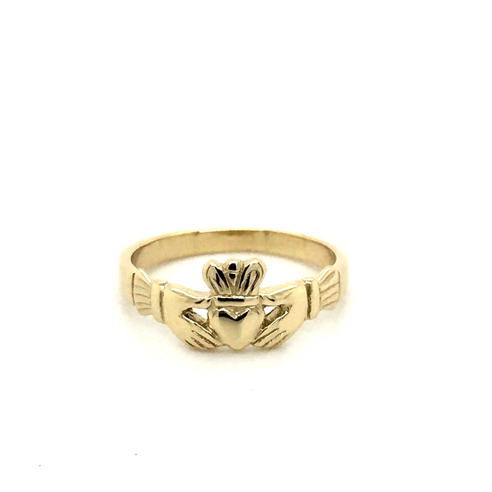 9ct Irish claddagh ring. - Red Carpet Jewellers