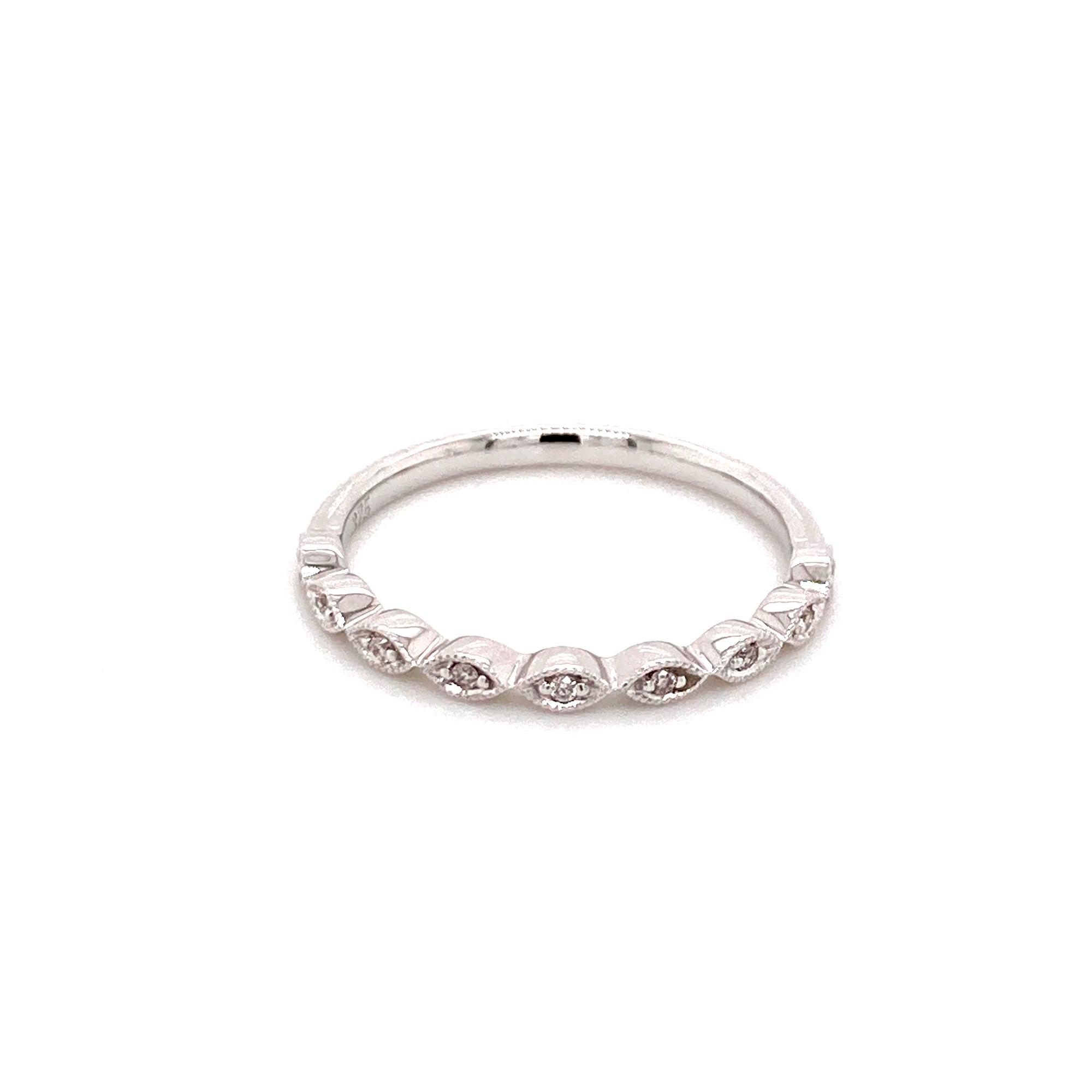 9ct white gold diamond ring - Red Carpet Jewellers