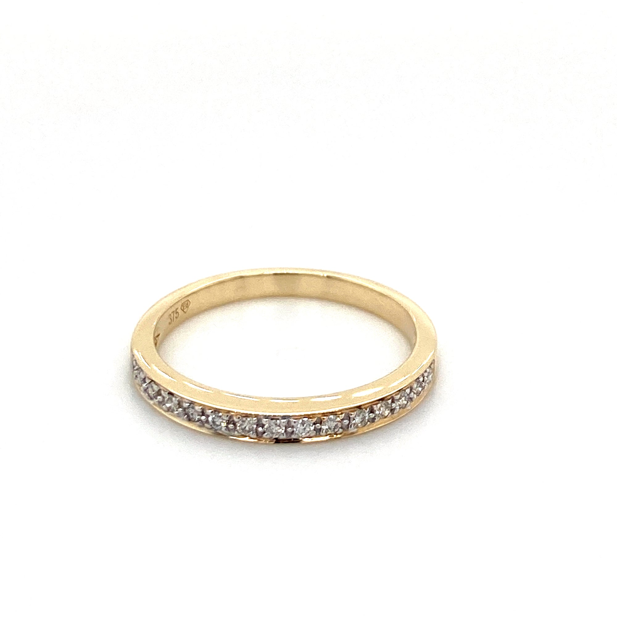 9ct gold diamond ring - Red Carpet Jewellers