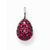 "Thomas Sabo SPECIAL ADDITION ""Garnet drop"" pendant - Red Carpet Jewellers"