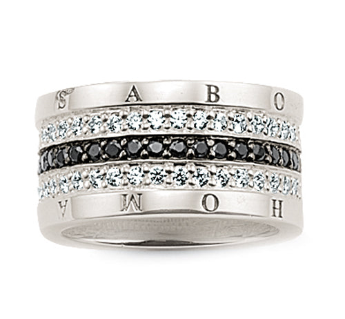 Thomas Sabo cz ring - Red Carpet Jewellers