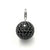 "Thomas Sabo blackened sterling silver ""disco ball"" pendant - Red Carpet Jewellers"