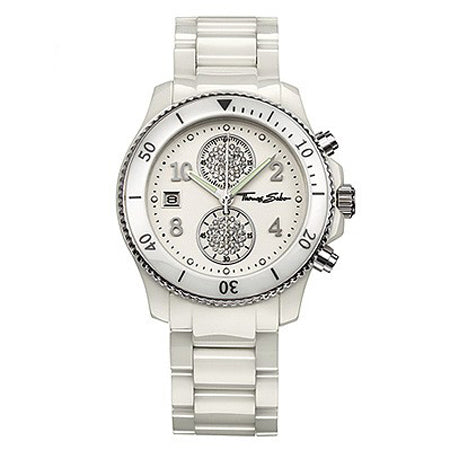 Thomas Sabo It Girl Sport Chronograph Ceramic Watch - Red Carpet Jewellers