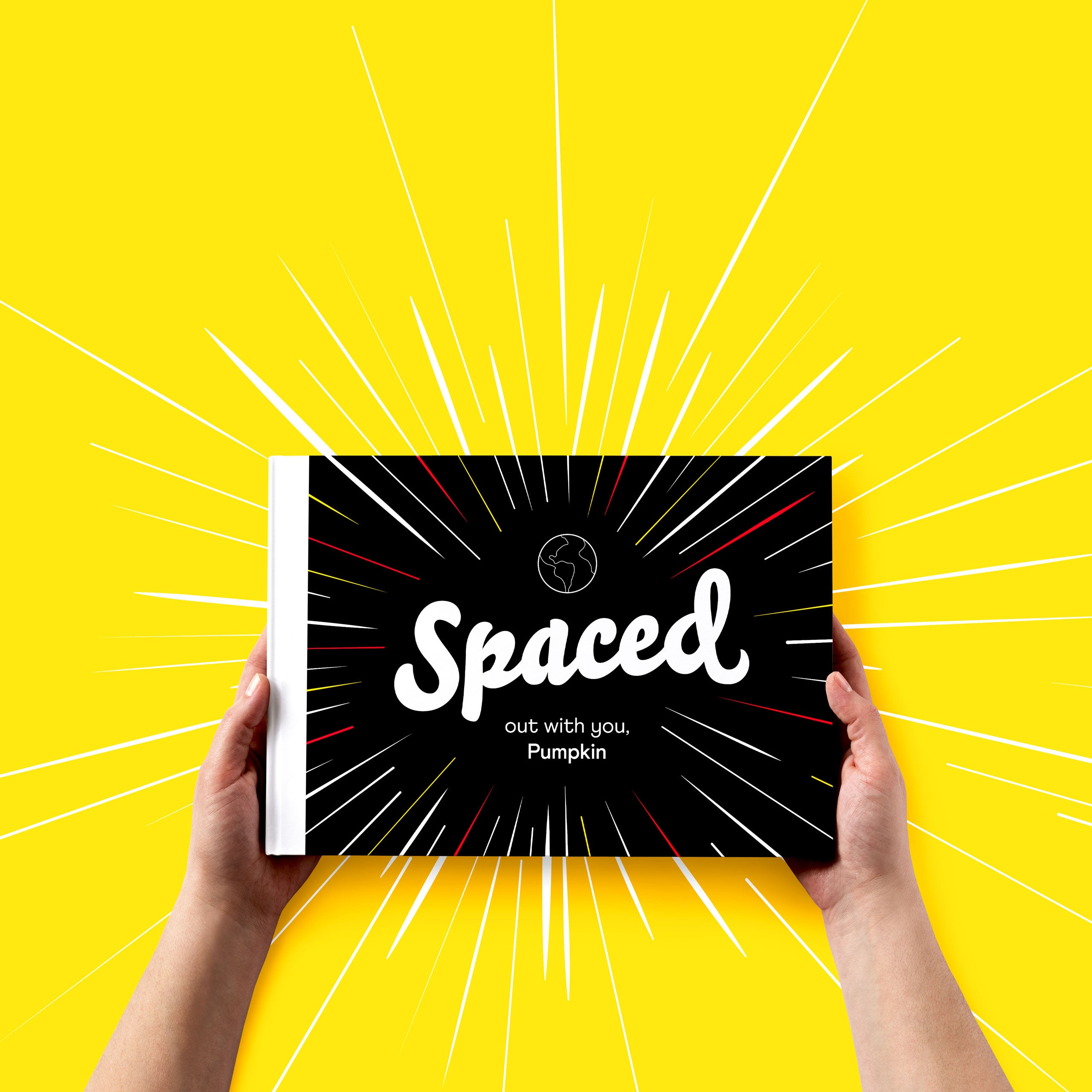 spaced out with you book cover
