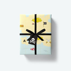 Ahoy Matey Series — Wrapping Paper, Stickers and Tag Set