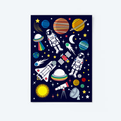 Blast Off Series — Sticker Set (2)