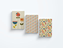 Dinky, Bountiful and Flowers — Bloom Collection — Notebooks (3)