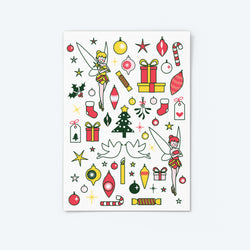 'Tink and Tippy' — Christmas Sticker Set (2)