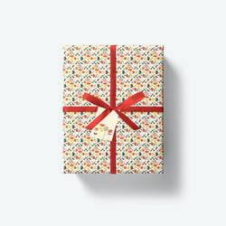 Dinky Bloom — Bloom Collection — Wrapping Paper and Gift Tag Set