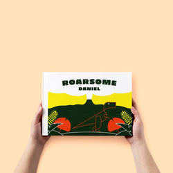 Roarsome T-rex Personalised Book