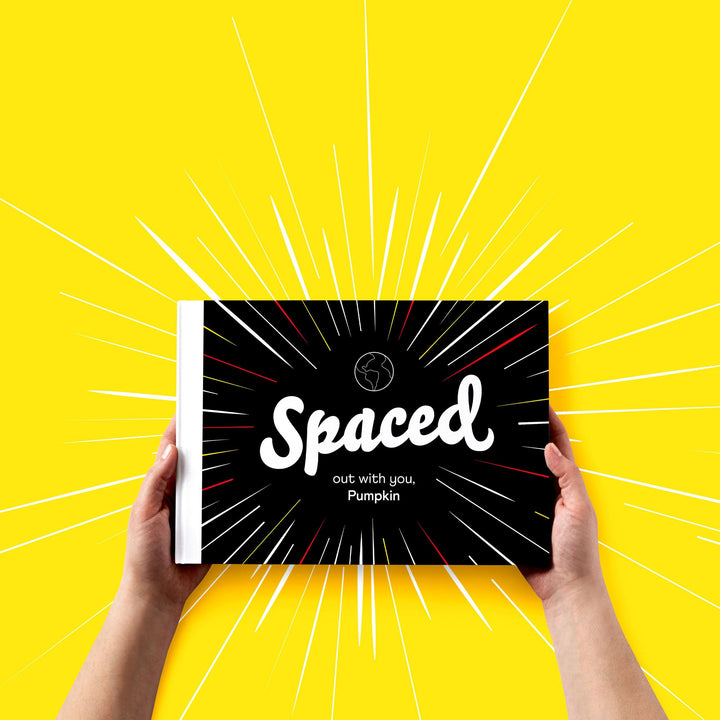 Spaced Out With You Personalised Book