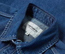 Load image into Gallery viewer, Carhartt WIP Barlow Short Blue Dark Stoned Wash