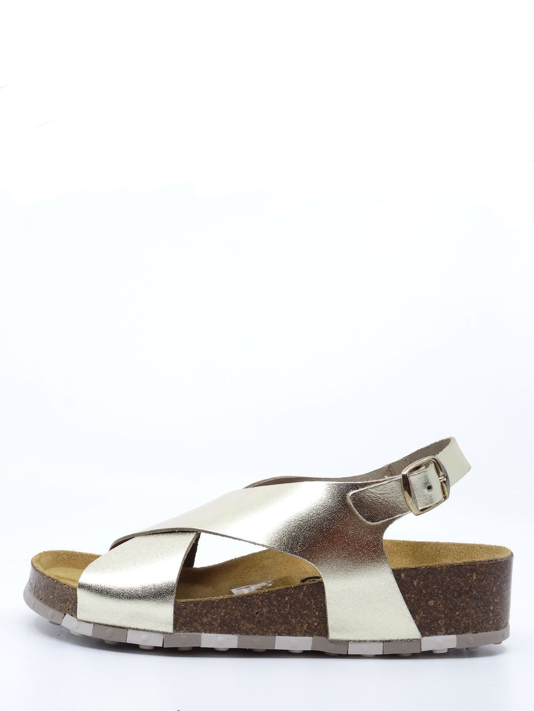 CCILU Audre Gold Leather