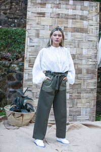 Barry Made Bay Pants Olive Combo