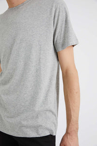 Neuw Denim Bass Tee Grey Marle