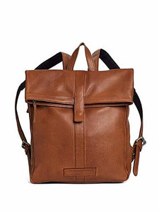 Sticks & Stones Courier Backpack Cognac
