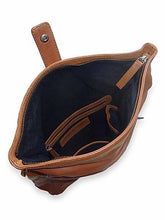 Load image into Gallery viewer, Sticks & Stones Courier Backpack Cognac