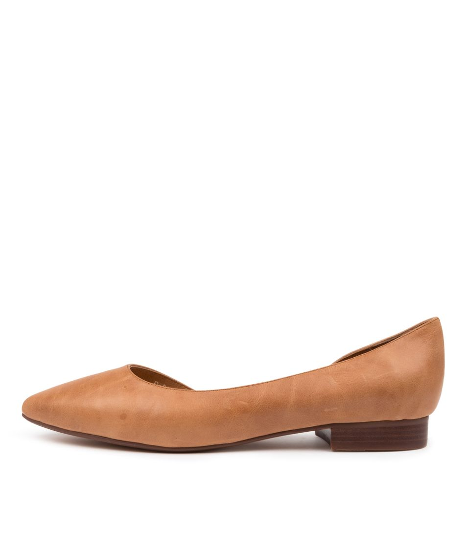 Diana Ferrari Daballay Dark Tan Leather