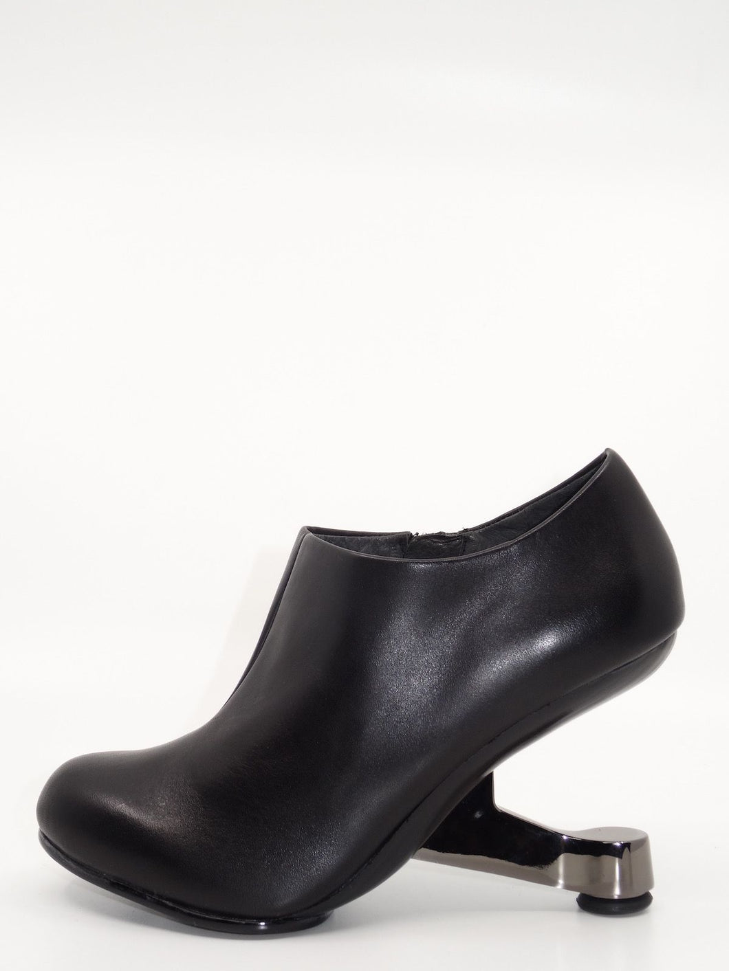 United Nude Eamz Bootie Black Leather