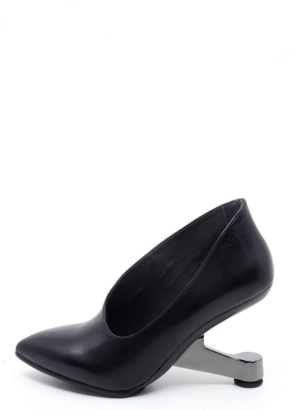 United Nude Eamz Ellie Black Leather