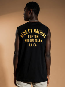Deus Lloyd Muscle T-Shirt Black