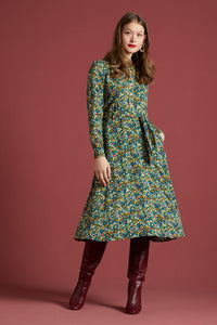 King Louie Sheeva Dress Manga Pine Green