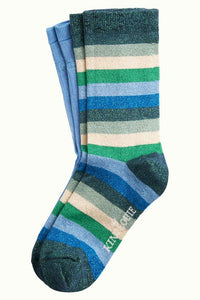 King Louie Socks 2-Pack Dragonfly Green