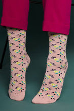 Load image into Gallery viewer, King Louie Socks 2-Pack Granny Pink
