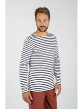 Load image into Gallery viewer, Armor Lux Breton L/S T-Shirt White/Navy