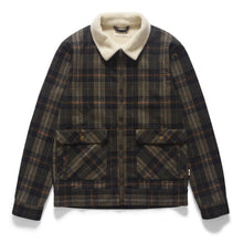 Load image into Gallery viewer, McTavish Shipsterns Woolen Sherpa Jacket Pine Check