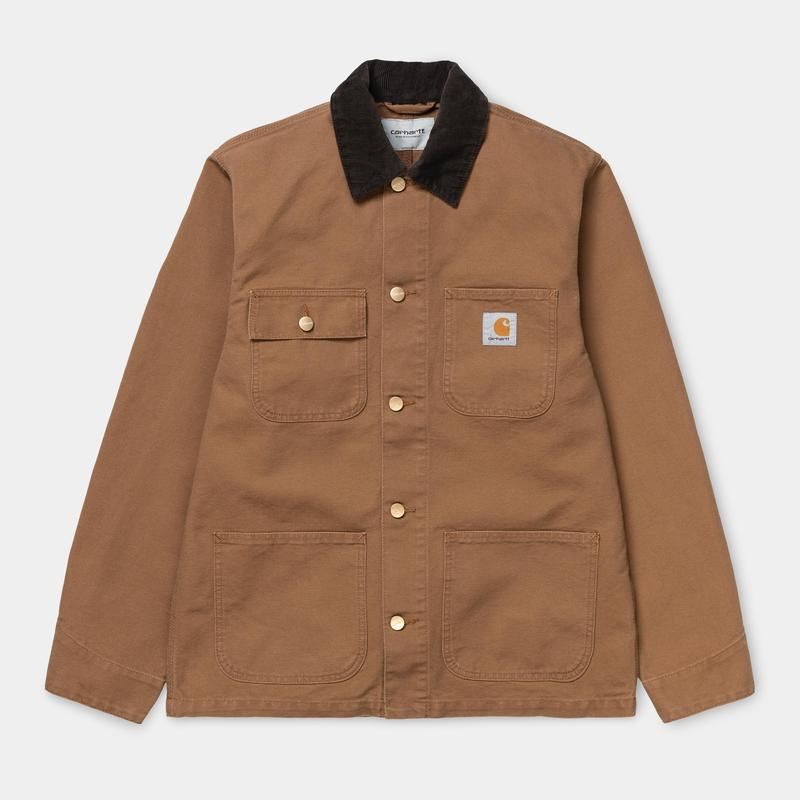 Carhartt WIP Michigan Coat Hamilton Brown