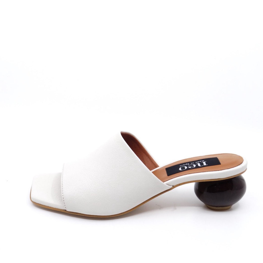 Neo Mindy Off White Leather