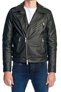 Neuw Denim Club Jacket Black Leather