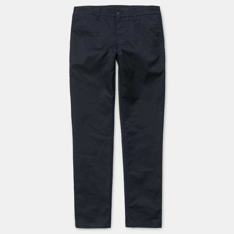 Carhartt WIP Sid Pant in 'Dark Navy Rinsed'